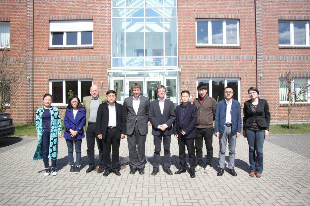 HIT welcomed the representatives of Henan Junton Vehicle Co., Ltd. in Wardenburg