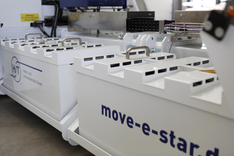 Detailaufnahme move-e-star für schwere Lasten